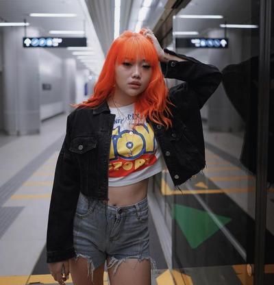 Rambut Orange ala Idola