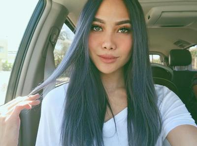 Dark-Grey Long Hair