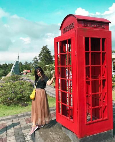 4. Foto di Berbagai Landmark Dunia Hanya dengan Rp20 Ribu? Merapi Park Tempatnya!