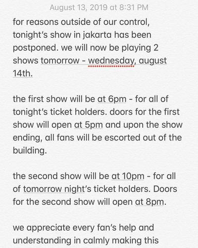 Penonton Kecewa Berat Lany Batal Konser di Jakarta, Ternyata Ini Penyebabnya!