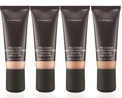 6. MAC Pro Longwear Nourishing Waterproof Foundation