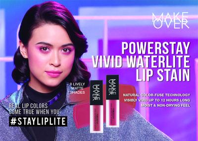 Make Over Vivid Waterlite Lip Stain, Produk Baru yang Bisa Tahan 12 Jam!