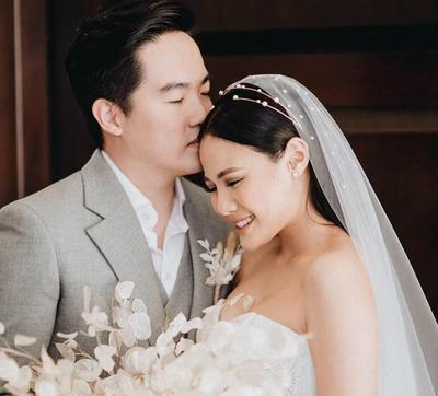 Dandan Sendiri di Hari Pernikahan, Vinna Gracia Tampil Memesona!