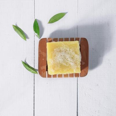 4. Sensatia Botanicals Tea Tree & Lemon Myrtle Soap