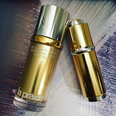 La Prairie Radiance Cellular Perfecting Fluide Pure Gold