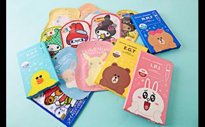Gemas! Sheet Mask Asal Korea dan Jepang Ini Punya Desain Karakter yang Unik