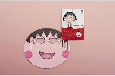 Isshin-Do Design Face Packs-Chibi Maruko Chan