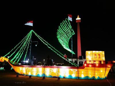 Replika Kapal Majapahit