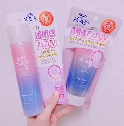 Skin Aqua Tone Up UV Spray