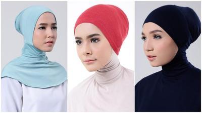 1. Pakai Inner Hijab