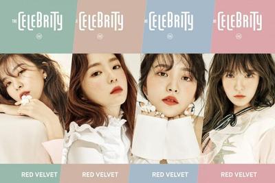 Irene, Seulgi, Wendy, dan Yeri Red Velvet