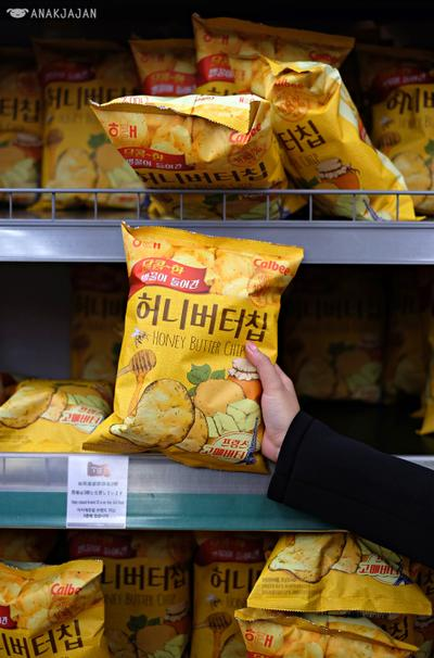 5.   Calbee Honey Butter Chips