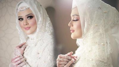 Flawless dan Bold, Pilihan Makeup Cut Meyriska di Hari Pernikahan