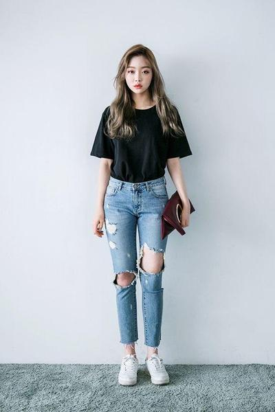 4. Ripped Jeans