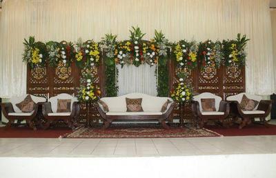 Dekorasi Batik Simpel