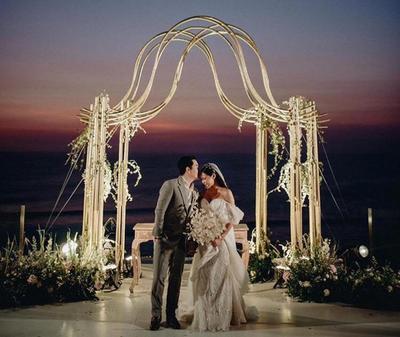 Menikah di Bali, Vinna Gracia Usung Konsep Intimate Party Ini