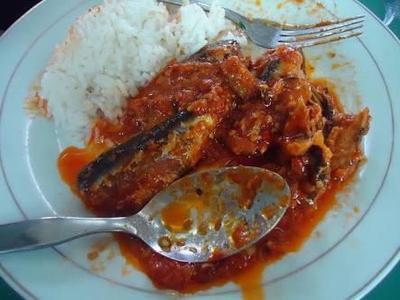 1. Nasi Sarden