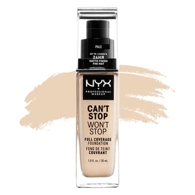 Foundation : NYX Professional Makeup Can't Stop Won't Stop Foundation