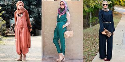 Mari Coba Style Baru, 8 Fashion Jumpsuit untuk Hijabers ini Bisa Jadi Inspirasi