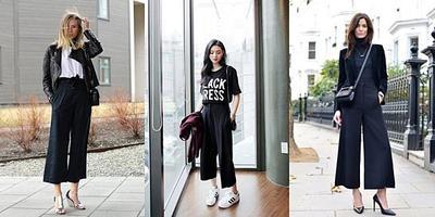 Tak Melulu Harus Warna Cerah, Padupadan Outfit Hitam Ini Juga Cocok untuk Liburan