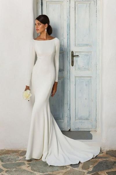 Vintage Mermaid Wedding Dress