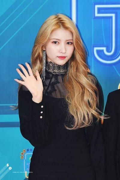 Tampilan Blonde