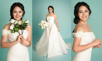 Yuk, Intip Cantiknya Amanda Manopo Saat Gunakan Dress di Sini!