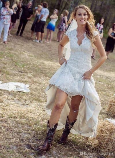 Country Casual Wedding Dress