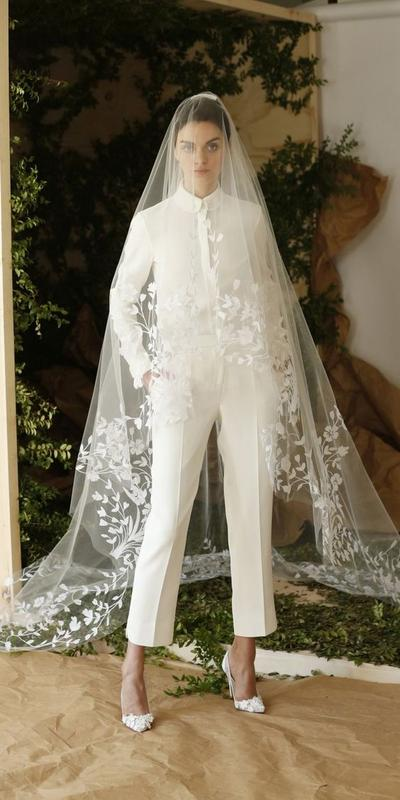 Suit Wedding Dress