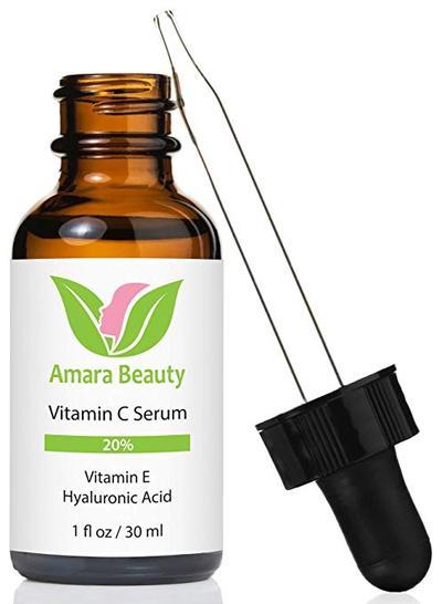 5.  Amara Organics Vitamin C Serum