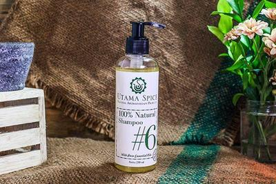 Utama Spice #6 100 % Natural Shampoo