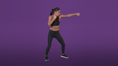 Jumping Lunges & Punch