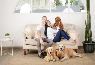 3. Foto 'Keluarga' di Studio