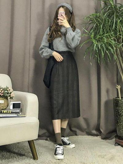 Korean style dengan Rok