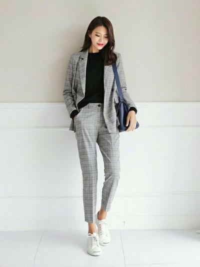 Korean Formal Look Style