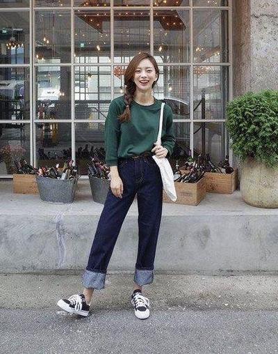 Korean Boyish Look style