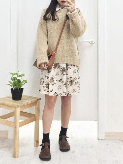Korean Dress Look style