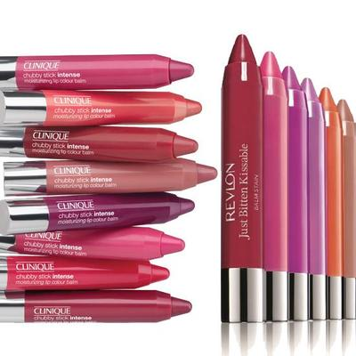 3. Clinique Chubby Stain & Revlon Balm Stain