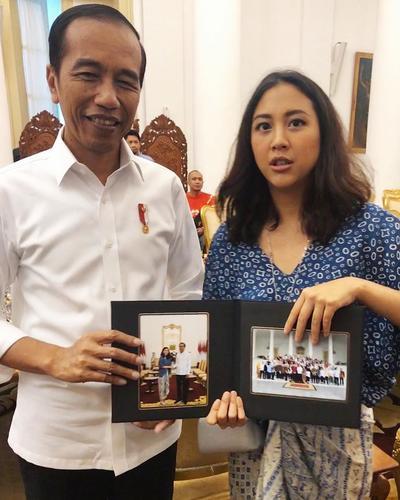 Kesempatan berfoto dengan Presiden