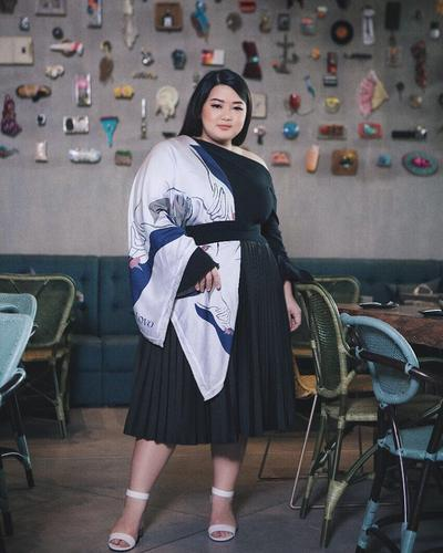 Inspirasi Fashion ala Irene Permatasari