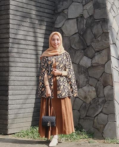 model batik kerja tunik