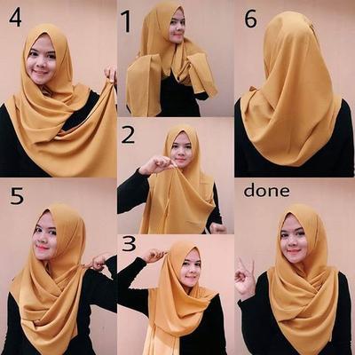 Ladies Ini Cara Memakai Hijab Segitiga Dengan Praktis Bikin Tampilanmu Makin Cantik Setiap Hari
