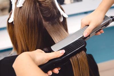 cara yang benar mencatok rambut