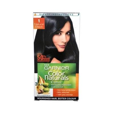 semir rambut garnier black