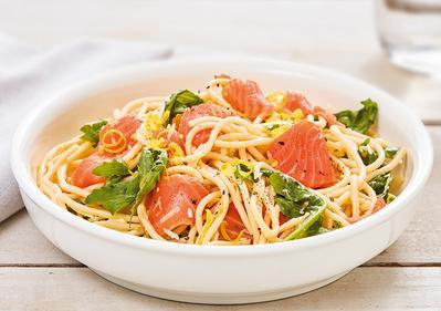 Resep Pasta Smoked Salmon Menu Diet Sederhana Rasa Sekelas Restoran