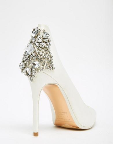 embellished heels diamond