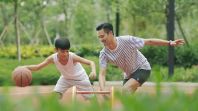 keluarga sehat berolahraga