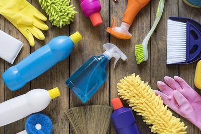 alat untuk membersihkan rumah keluarga sehat